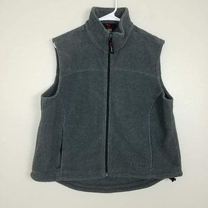 L.L. Bean Outdoors Polar Fleece Vest Zip-Up #3431